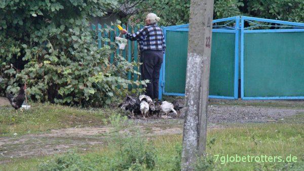Landleben in der Ukraine