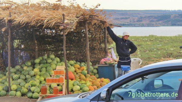 """Melonenstand an der """"Autobahn"""""""