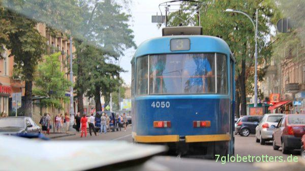 Tatra-Straßenbahn in Odessa