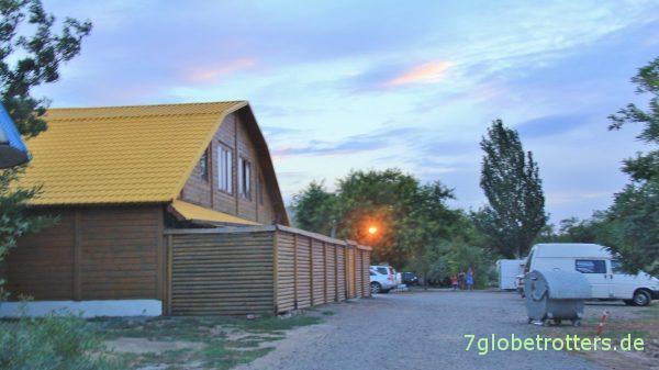 Eingang zum Campingplatz Odessa