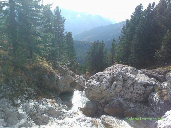Wasserfall an der Sellagruppe