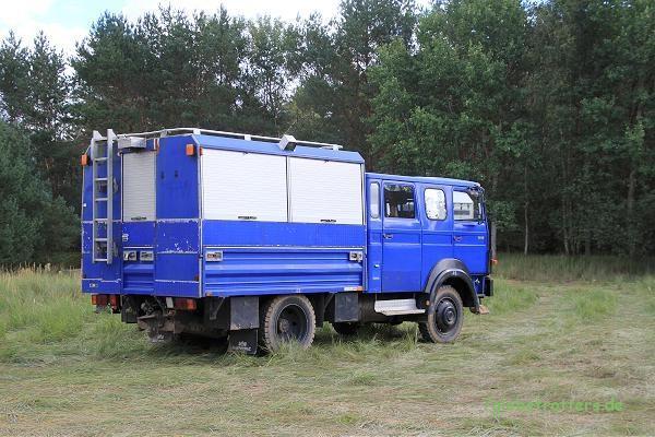 Iveco / Magirus-Deutz 90-16 vom THW sind gute Basisfahrzeuge für ein Expeditionsmobil