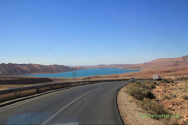 Stausee Al Hassan Addakhil bei Er-Rachidia, Marokko