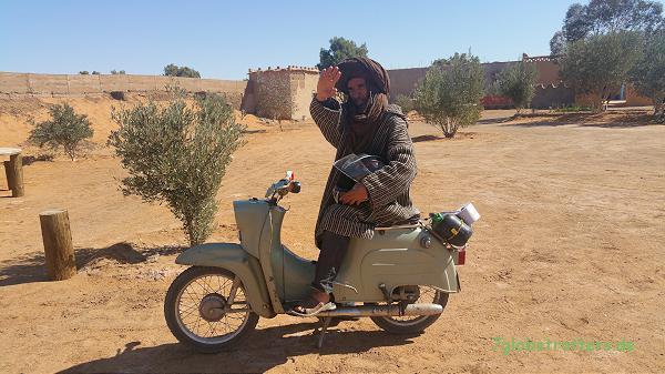 """Ahmed vom """"Campingplatz"""" Merzouga"""