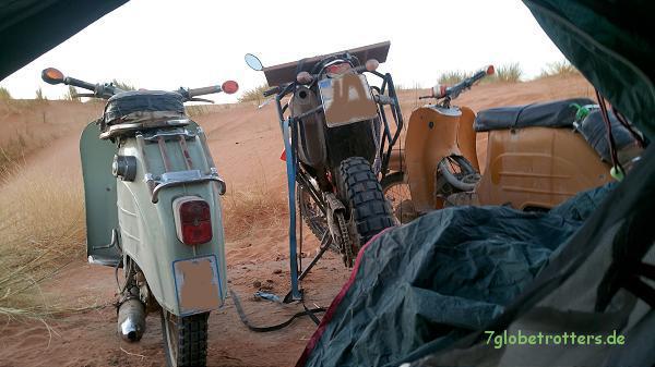 Marokko: Wüstentour mit Simson Schwalbe und KTM 690 Enduro R