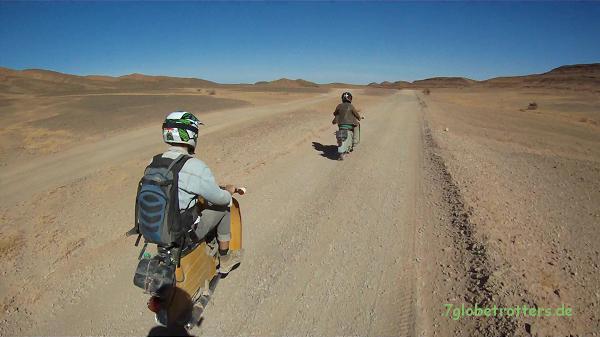 Eine schöne Tour durch die marokkanische Hamada