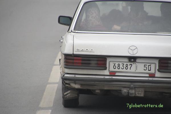 MB 240 D als Taxi mit Was-weiß-ich-wie-vielen-Kilometern