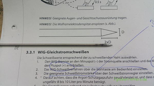 Schweißen lernen: Lesen der Anleitung fürs WIG-Schweißen und der theoretischen Grundlagen