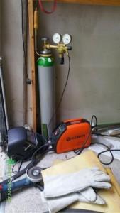 Ausrüstung für das WIG-Schweißen