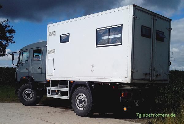Allrad Wohnmobil MB 1124 AF