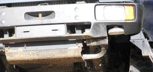 Allrad - LKW: Hoffentlich mit einer brauchbaren Aufbaulagerung