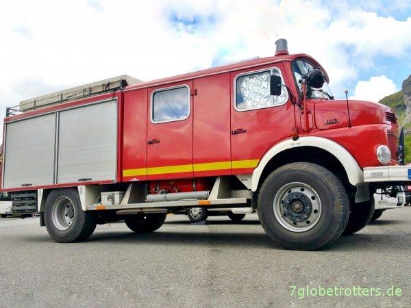 Mercedes-Benz Kurzhauber LAF 1113 B Feuerwehr, lange Doka