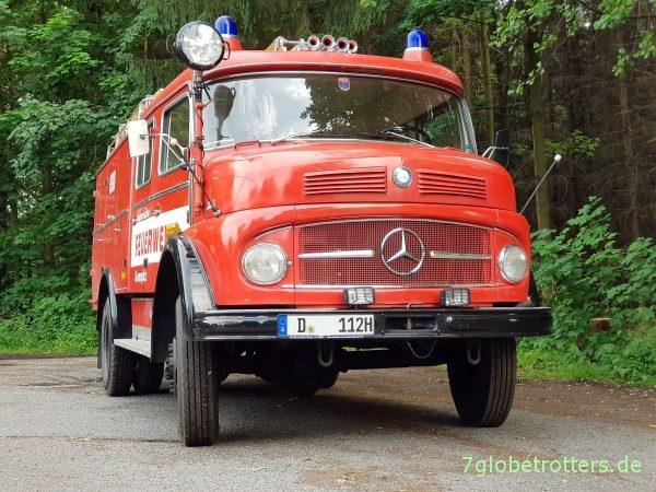 Mercedes Kurzhauber LAF 1113, A-Modell Gerätewagen