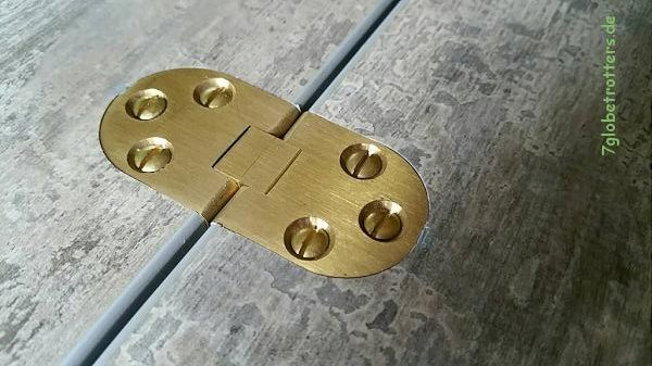 Hochwertige Klappscharniere für den Wohnmobil Tisch