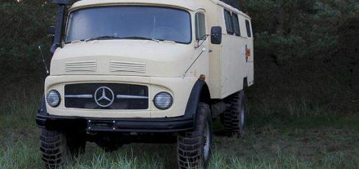 Umbau eines Mercedes Kurzhaubers zum Expeditionsmobil (MB 710, MB 911 oder MB 1113)