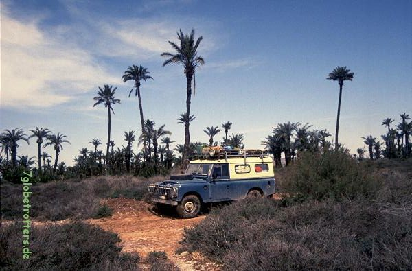 Land Rover Serie in Marokko 1992