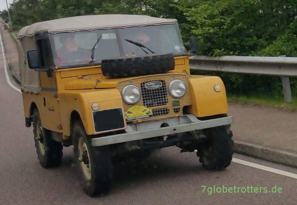 Greenlaning Schottland Land Rover Serie