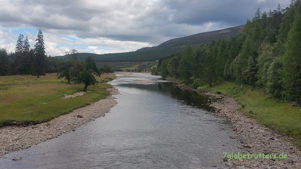 In den schottischen Highlands oberhalb des Linn of Dee