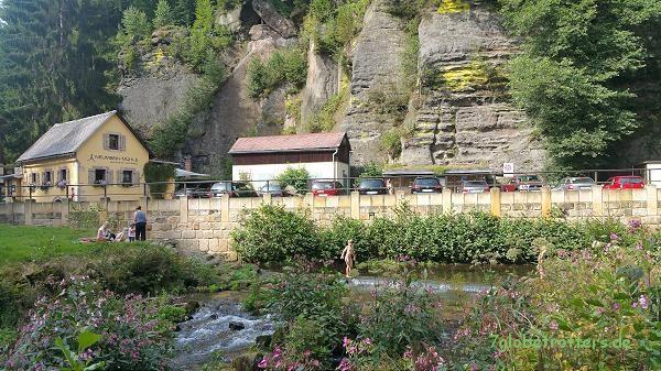 Die Neumannmühle im Kirnitzschtal