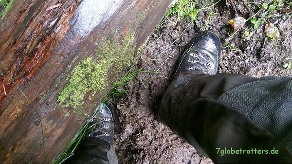 Nasse Füße im Großen Zschand
