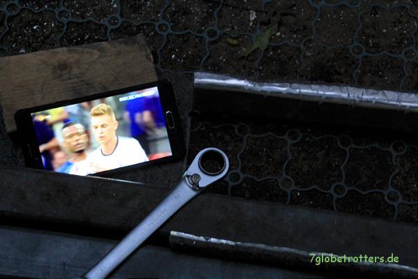 Halbfinale an der Kantbank - das Handy macht's möglich