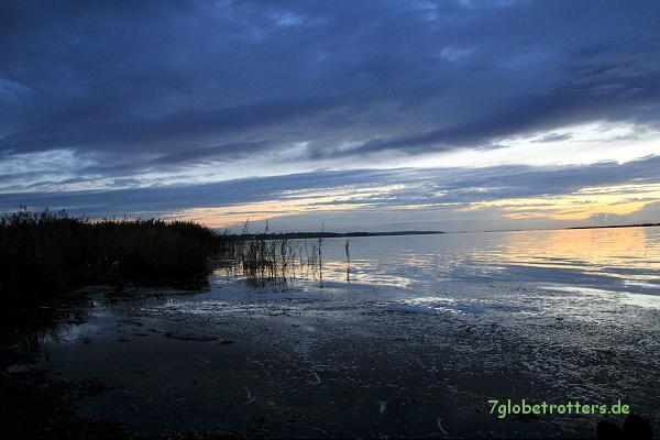 Sonnenuntergang am Bock