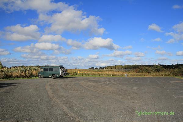 Wenig Besucher an der Ostsee im Oktober