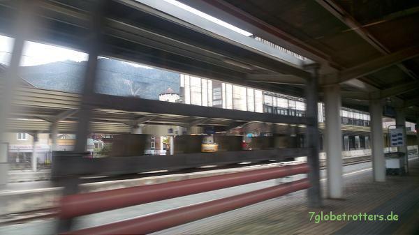 Mit dem Eurocity durch Österreich