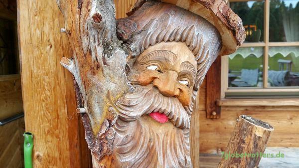 Die Geisleralm in Südtirol, eine nette Hütte mit netter Bedienung