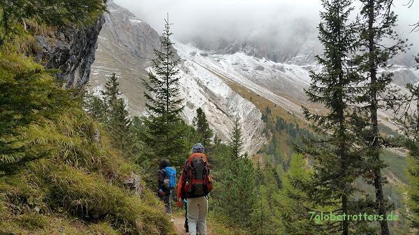 Der Adolf-Munkel-Weg in den Dolomiten