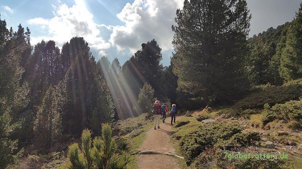 Abstieg nach St. Ulrich