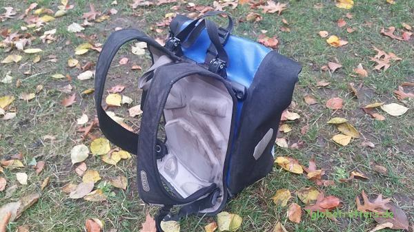Wasserdichte Schultasche mit Ortlieb Tragesystem für den Ranzen