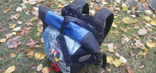 Ortlieb Frontroller als Schultasche