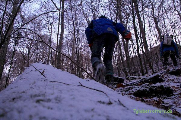 Erfahrungen sammeln mit Hindernissen auf dem Weg durch den Dschungel
