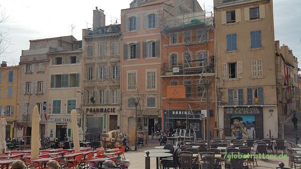 Das alte Marseille in der Nähe des Hôtel de Ville