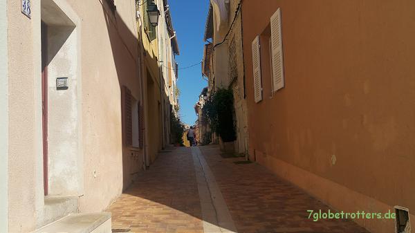 In der hübschen Altstadt von Cassis