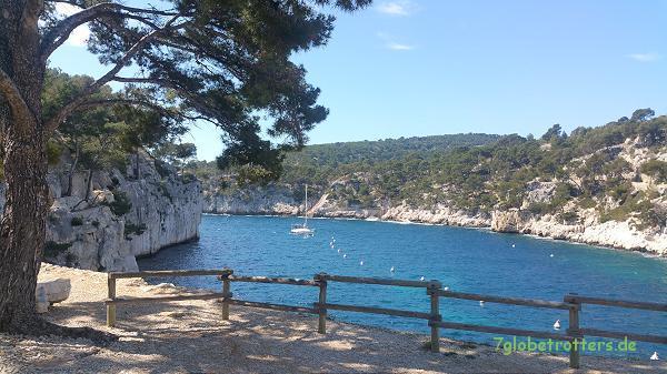 Calanque de Port Miou bei Cassis, Südfrankreich