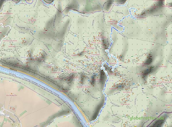 Wanderkarte Kuhstall-Wildenstein-Affensteine-Satanskopf-Frienstein-Fluchtwandstiege-Heilige-Stiege-Schmilka (hikebikemap)