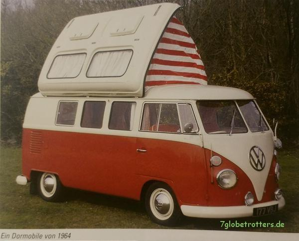 VW Bulli Campingbus als Dormobile mit coolem Dach