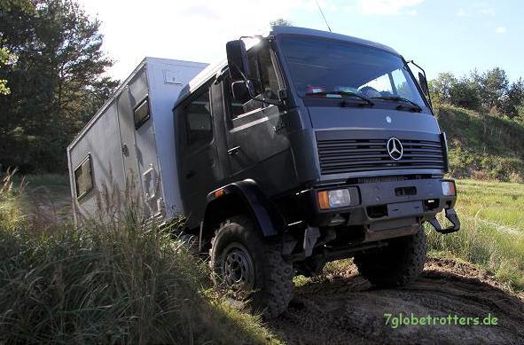 """MAN oder Mercedes? Der letzte """"richtige"""" Mercedes-Benz-LKW bis 12 t war der MB 1124 AF"""