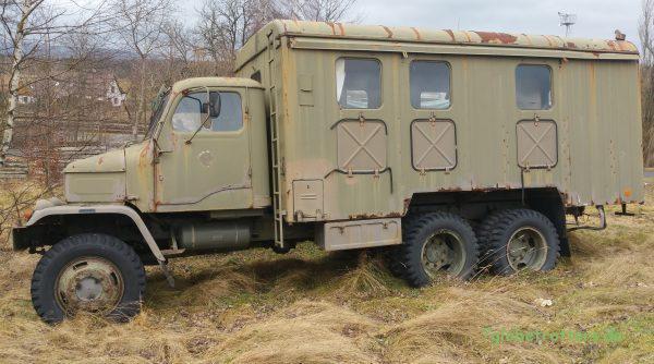LKW Praga V3S 6x6 Werkstattwagen