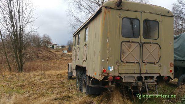 Der Praga V3S 6x6 Werkstattwagen könnte ein interessanter Koffer für ein Expeditionsmobil sein