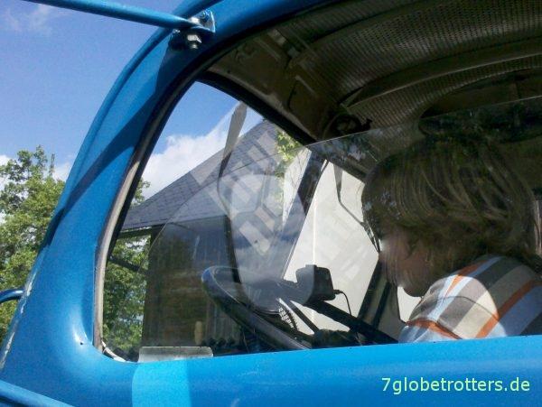 LKW Praga V3S 6x6 FEK Fäkalienkraftwagen im Kindereinsatz