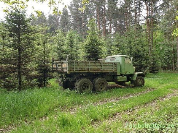 Praga V3S 6x6 M1 Pritsche