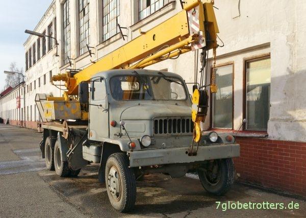 Praga V3S Kranwagen CKD AD 080