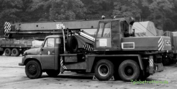 Tatra 1486x6 in der NVA: Autodrehkran AD 160