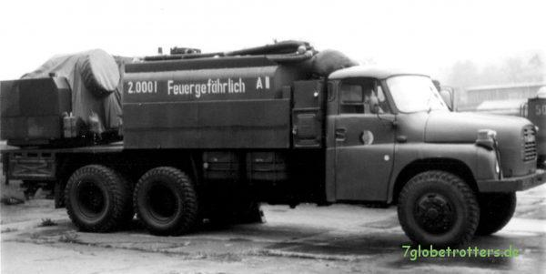 Tatra 148 6x6 NVA als Entgiftungsstation TZ-74