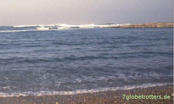 Das Meer von Laayoune Plage / Westsahara