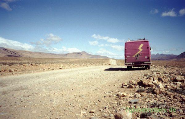 Piste durch den Hohen Atlas: Marokkanisches Hochland um Ait Hani