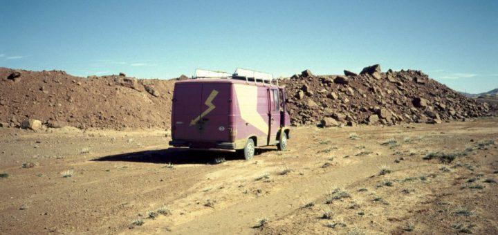 Bekannte Fundstelle für Mineralien aus Marokko: Mibladen